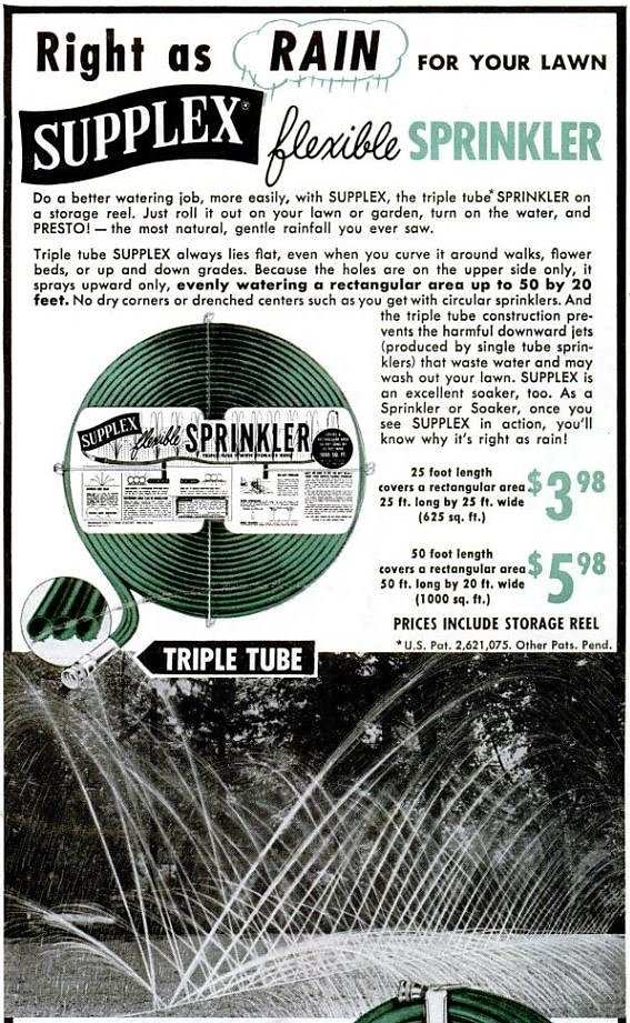 SUPPLEX SPRINKLER