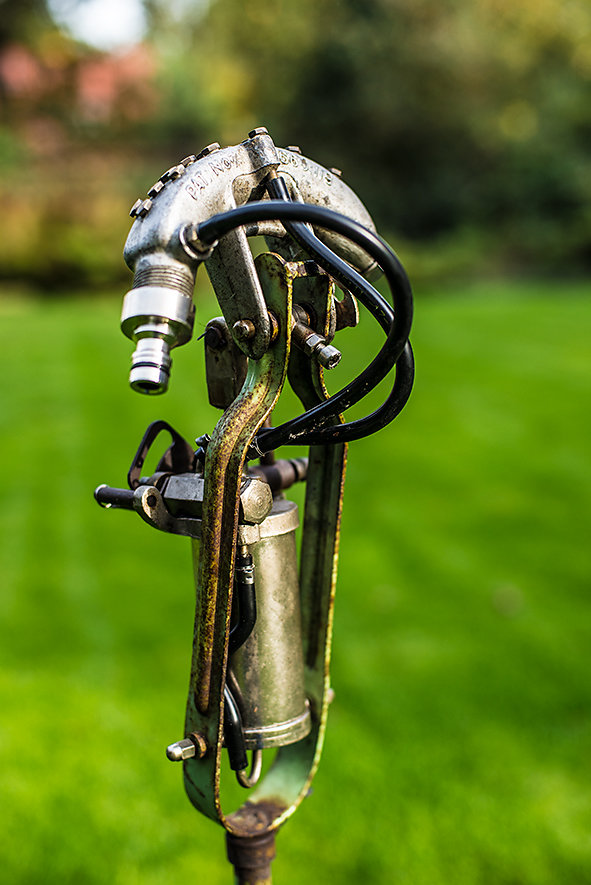 Hydraulik auf dem Grün