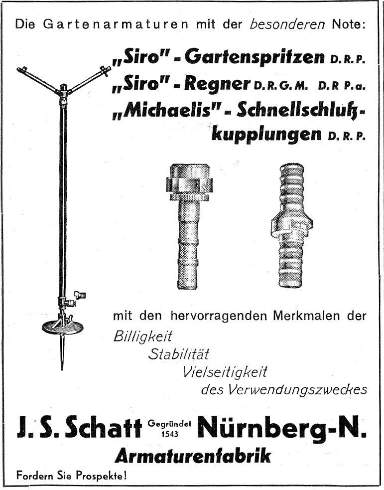 Steht die Armaturenfabrik Schatt Nürnberg
