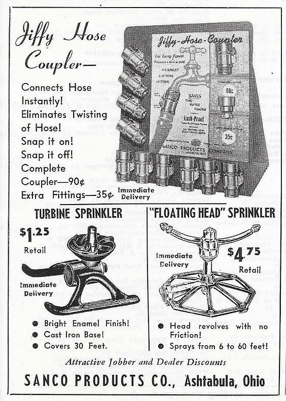 US Zeitschriftsinserat um 1950