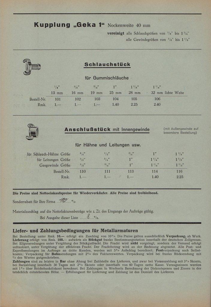 System GEKA 1