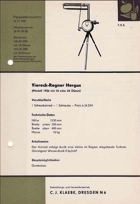 DDR Landwirtschaftskatalog 1963