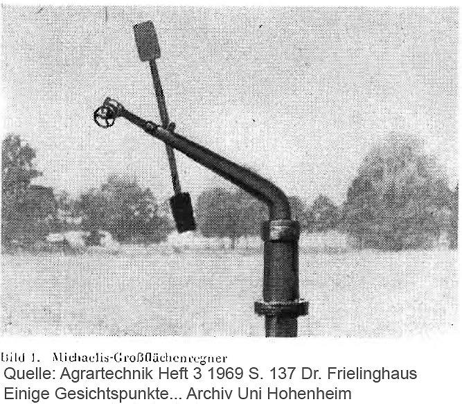 Michaelis Großflächenregner
