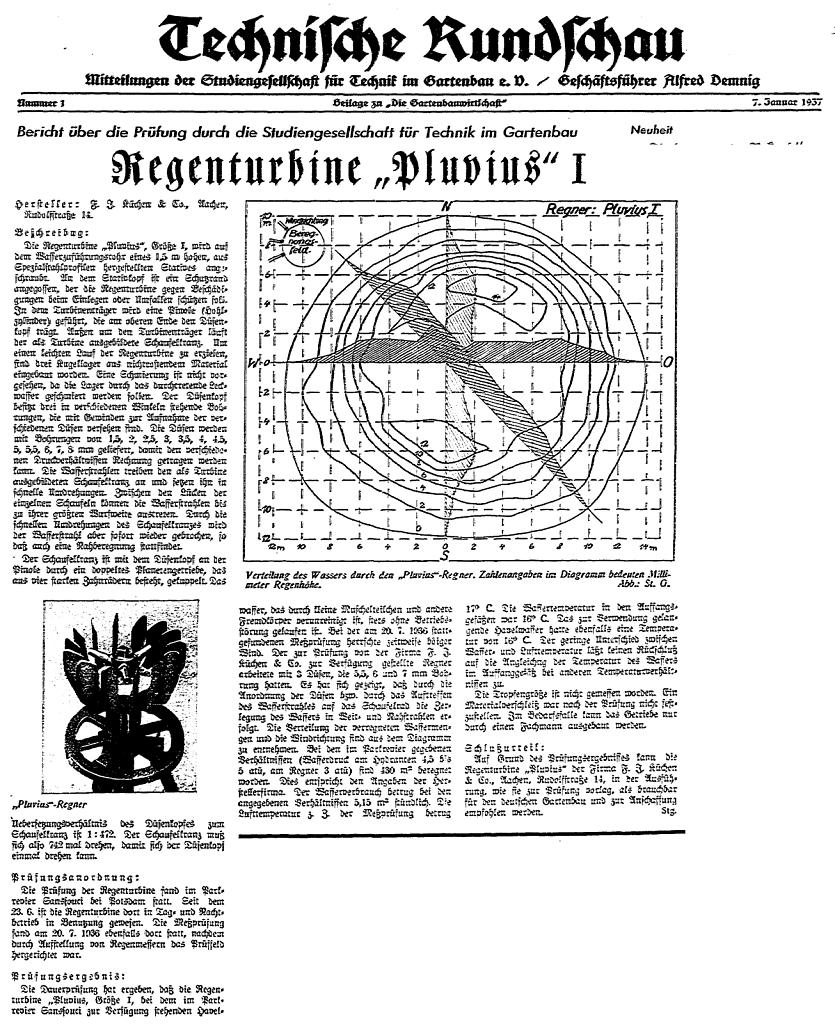 Zulassung 1937