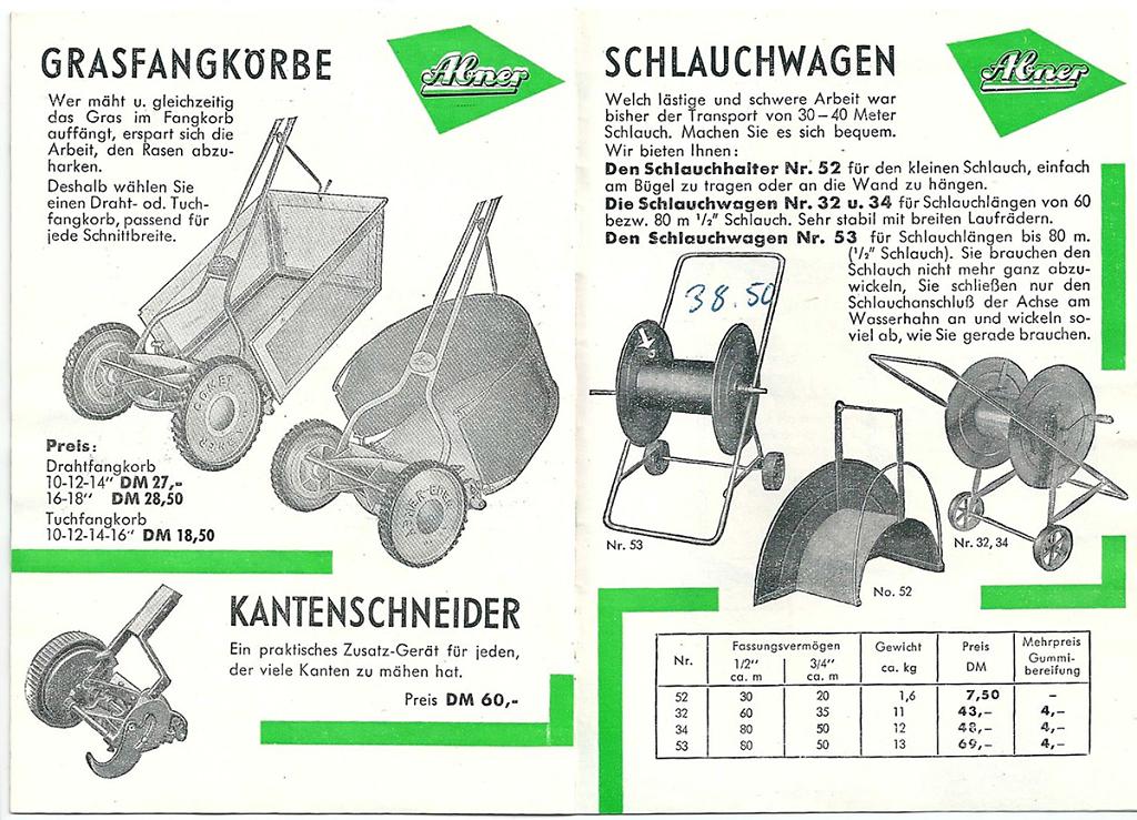 ABNER Katalog 1959