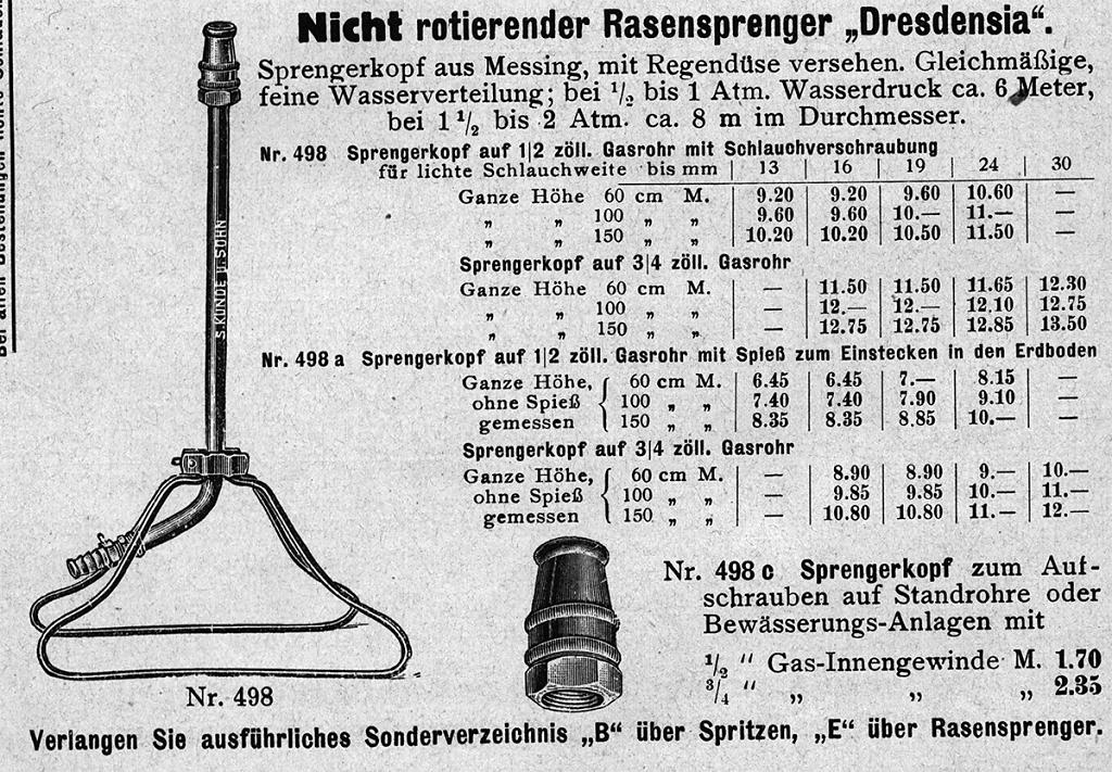 Katalog der FA Kunde Dresden 1933