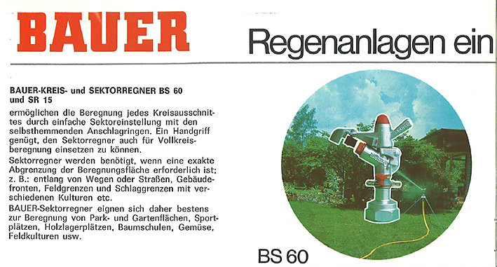 Bauer Katalog