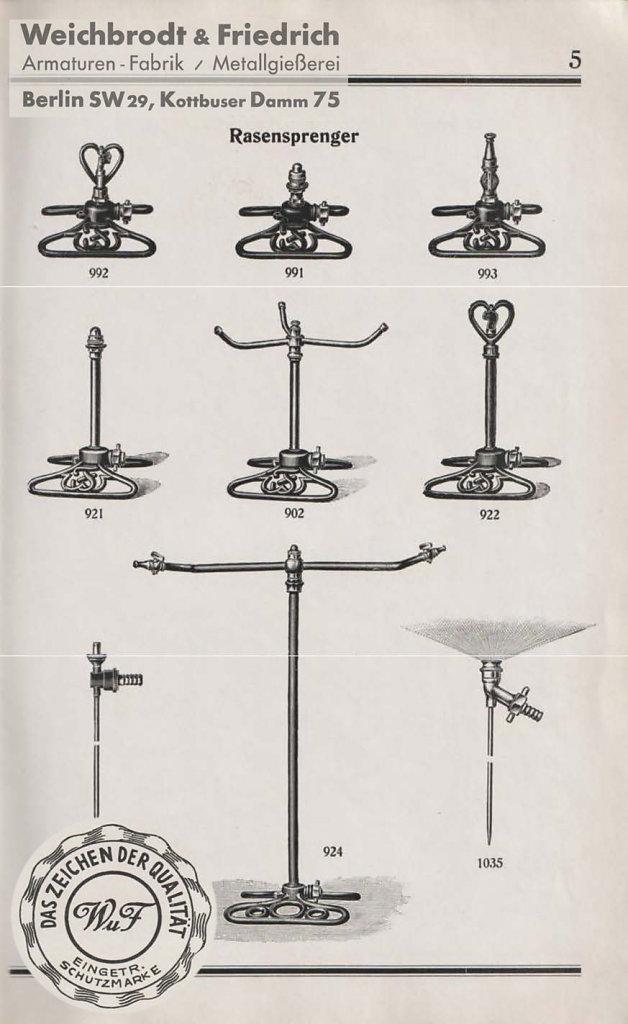 Katalog Weichbrodt&Friedrich